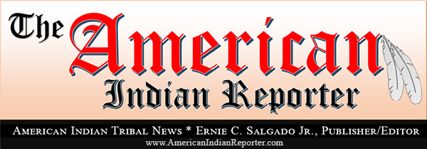THE AMERICAN INDIAN REPORTER TRIBAL NEWSPAPER